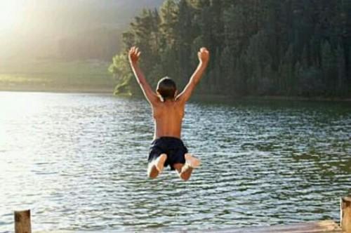 水に入る夢