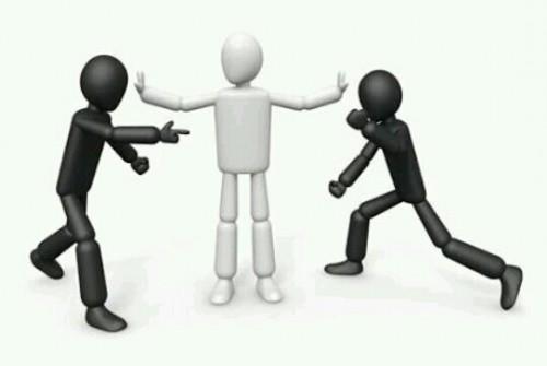 喧嘩の仲裁