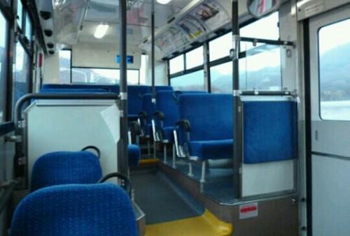 バスの乗客がいない夢