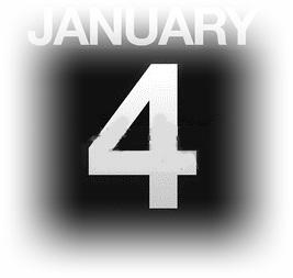 15633082-イラストを使用カウンター-カレンダー-1-月-4-日
