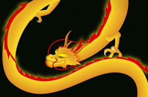 金色の龍の夢