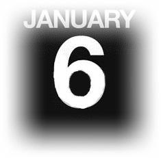 15633090-イラストを使用カウンター-カレンダー-1-月-6-日