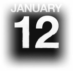 15633091-カウンター-カレンダー-イラスト-1-月-12-日