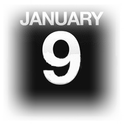 15633089-1-月-9-日カウンター-カレンダー-イラスト