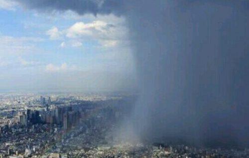 集中豪雨の夢