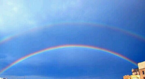 二重の虹の夢