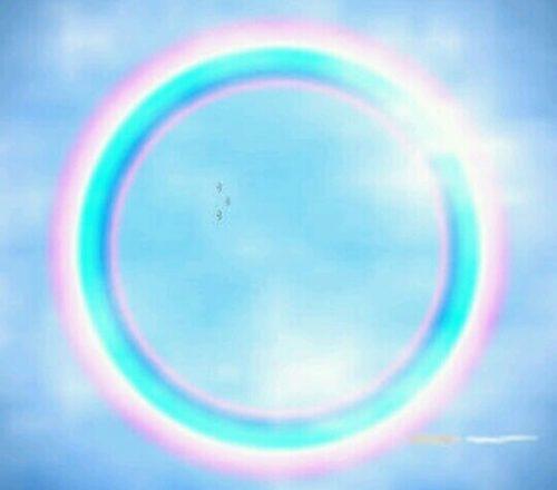 丸い虹の夢占い