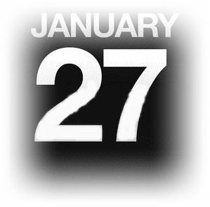 1月27日