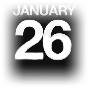 1月26日