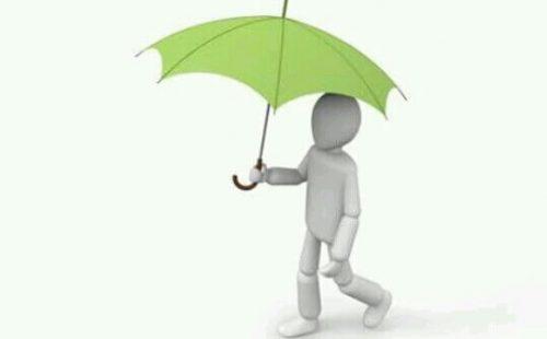 傘をさす夢