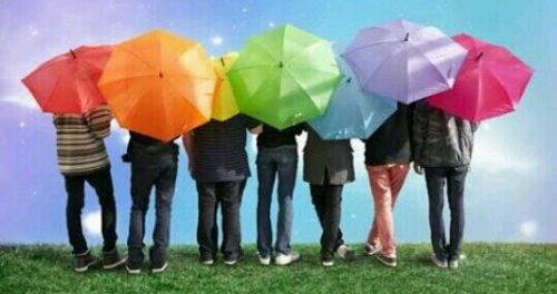 傘の色の夢