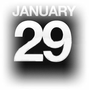 1月29日
