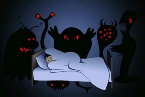 恐ろしい夢の夢
