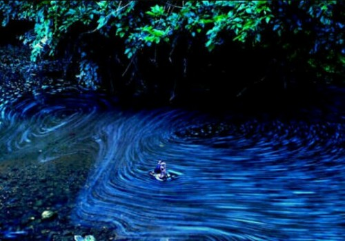 流れる水の夢