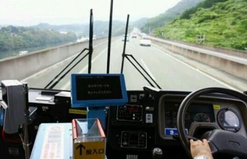 バスを運転する夢