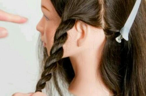 髪を編む夢