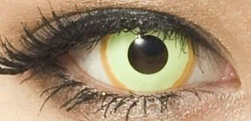 黄色の目の夢