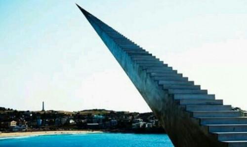 階段を延々と昇る夢