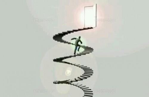 らせん階段の夢