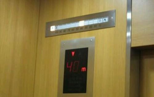 エレベーターが下りる夢