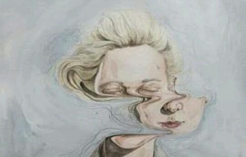 歪んだ顔の夢