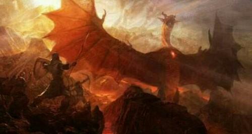 龍と戦う夢
