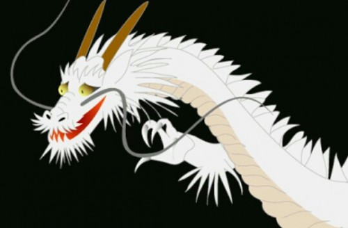 白い龍の夢