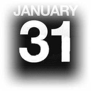 1月31日
