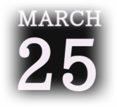 [誕生日占い]3月25日生まれの性格や恋愛運!意外な裏の顔は?