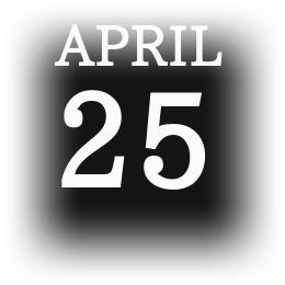[誕生日占い]4月25日生まれの内面は?表と裏を解説!