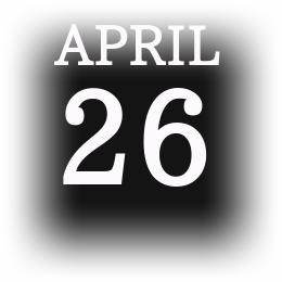 [誕生日占い]4月26日の性格の傾向と裏の顔!