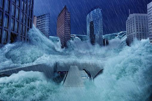 [夢占い]洪水の夢があらわすアナタの感情!