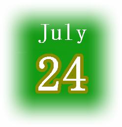[誕生日占い]7月24日生まれは平凡が嫌いな人!気になる性格は?