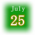[誕生日占い]7月25日生まれは夢追い人!基本性格や恋愛運、そして裏の顔は?