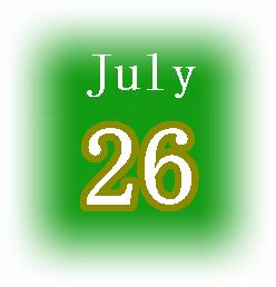 [誕生日占い]7月26日生まれは本音で生きる人!基本性格や恋愛運を解説!