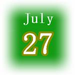 [誕生日占い]7月27日生まれは管理上手な人!基本的な性格・恋愛・仕事運は?