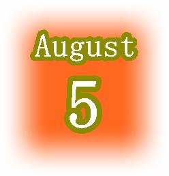 [誕生日占い]8月5日生まれはクールと短気が共存してる人!基本的な性格とその他の運気は?